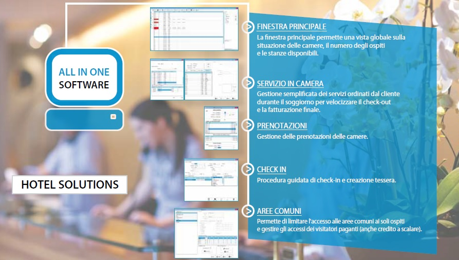 HOTEL SOLUTION PROH MS IL SOFTWARE DI GESTIONE XPR